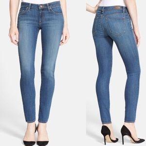 Joie Mid Rise Skinny Jeans in Oceana Medium